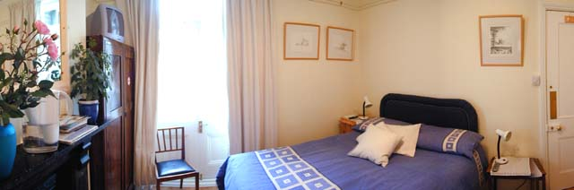 Panorama of double room